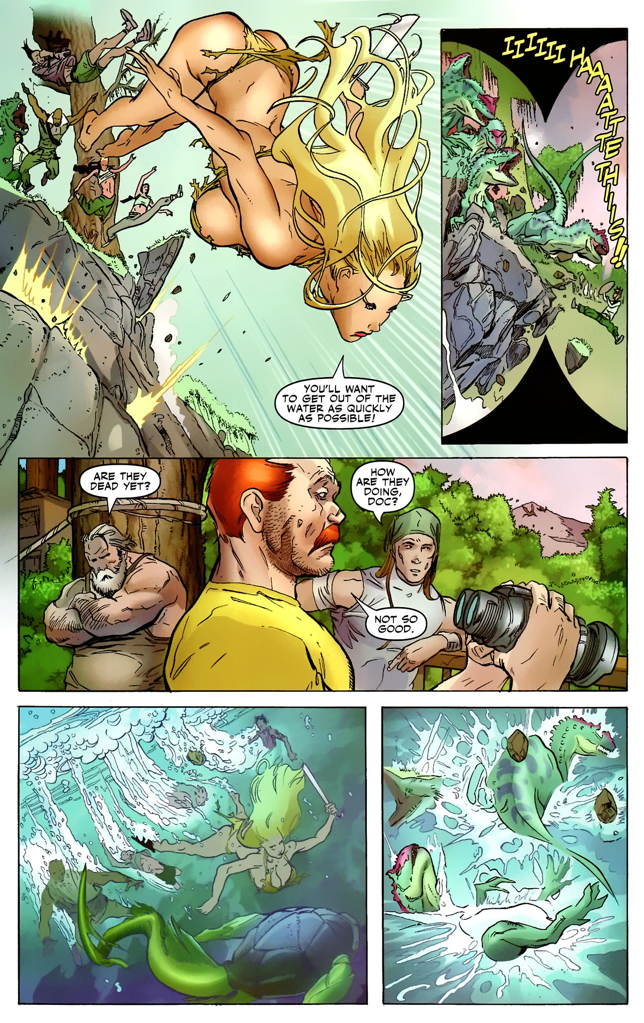 Read online Shanna the She-Devil: Survival of the Fittest comic -  Issue #2 - 5