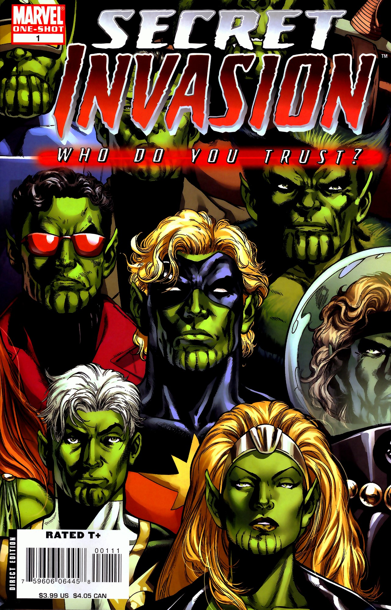 Read online Secret Invasion: Who Do You Trust? comic -  Issue # Full - 1