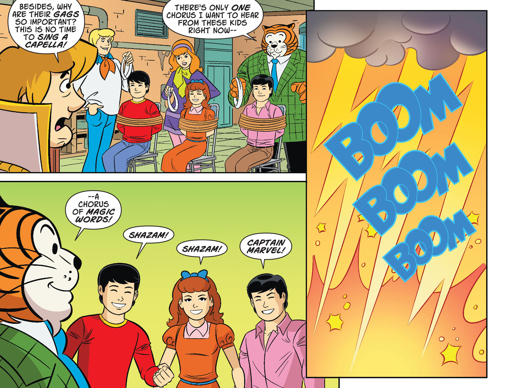 Read online Scooby-Doo! Team-Up comic -  Issue #32 - 11