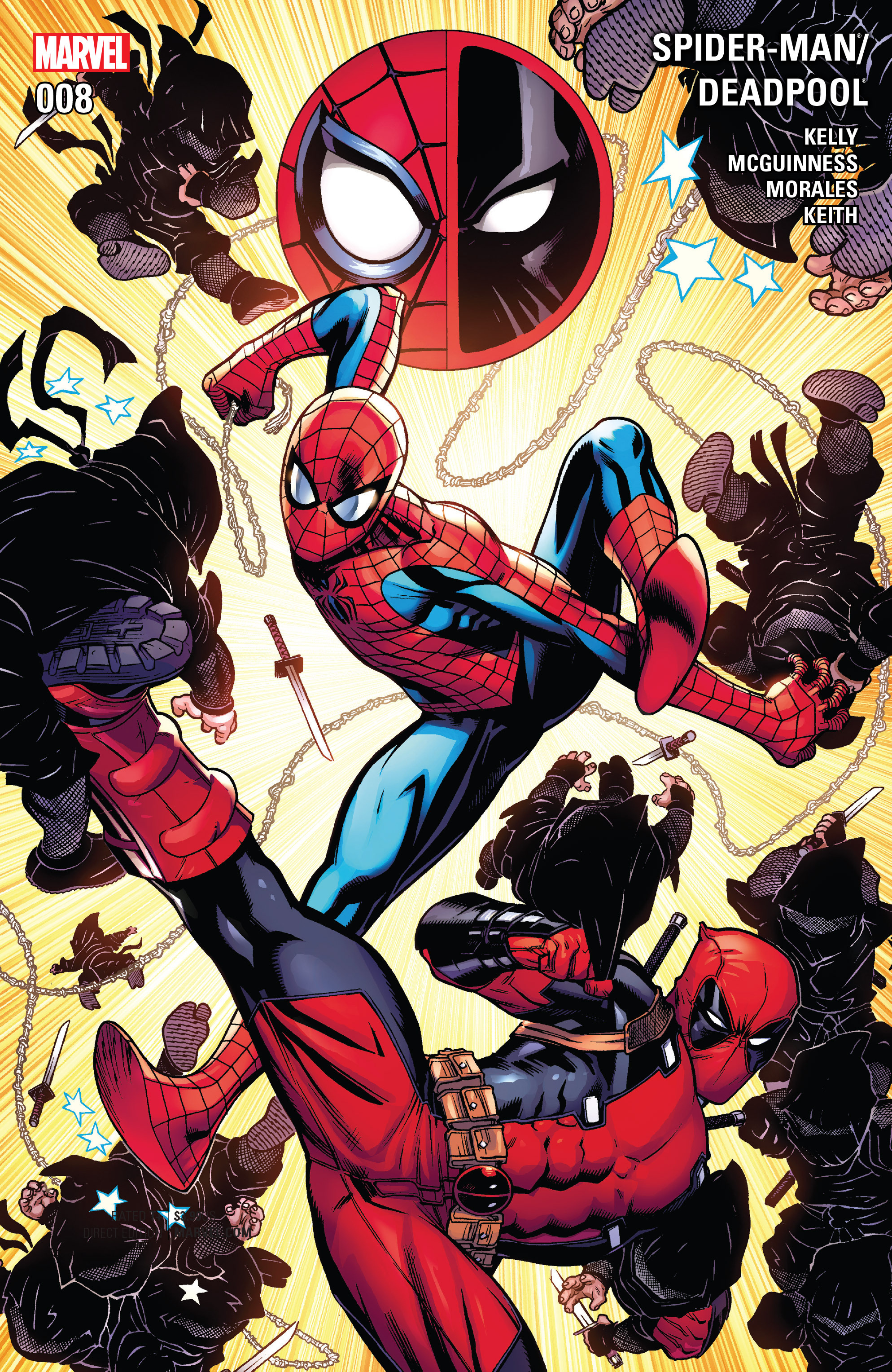 Spider-Man/Deadpool issue 8 - Page 1