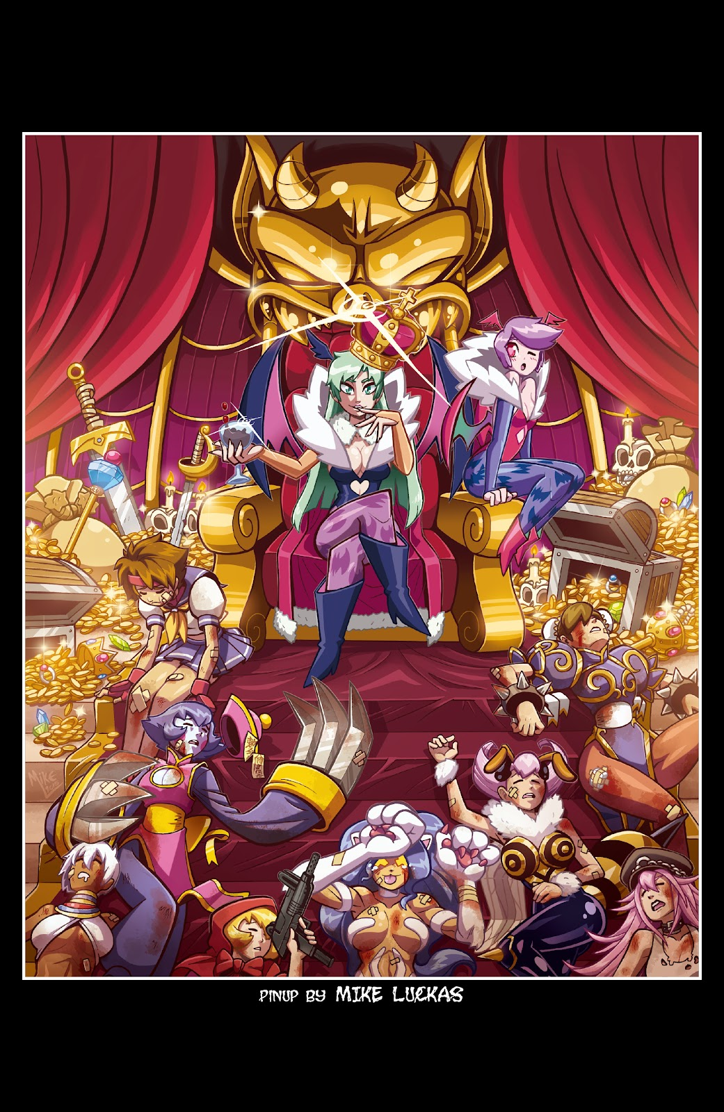 Street Fighter VS Darkstalkers Issue #0 #1 - English 24
