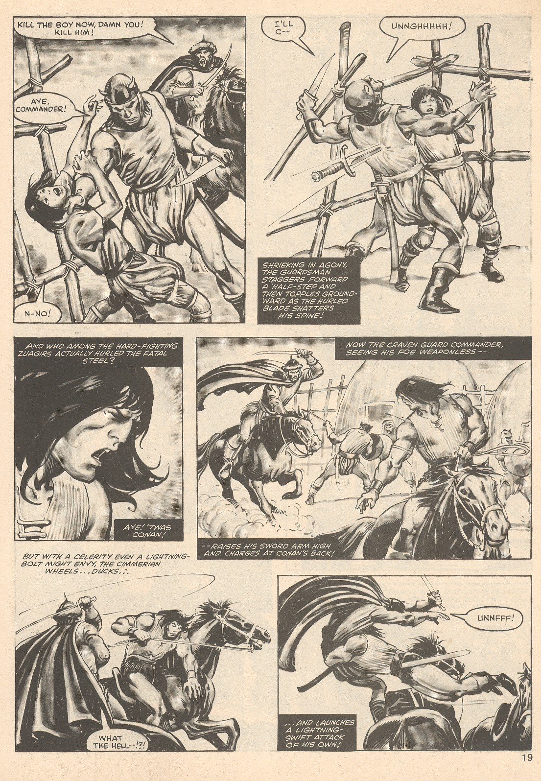 The Savage Sword Of Conan Issue #76 #77 - English 19