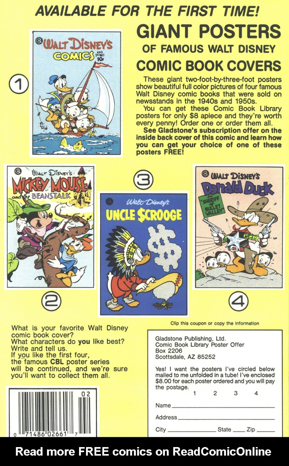 Uncle Scrooge (1953) Issue #214 #214 - English 36