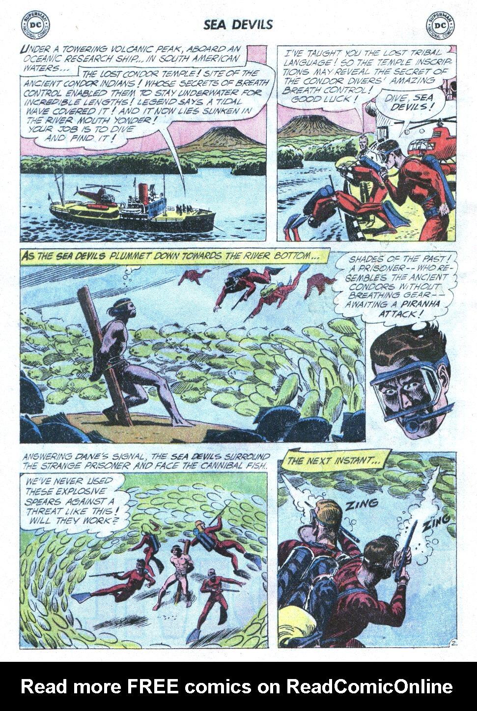 Read online Sea Devils comic -  Issue #4 - 21