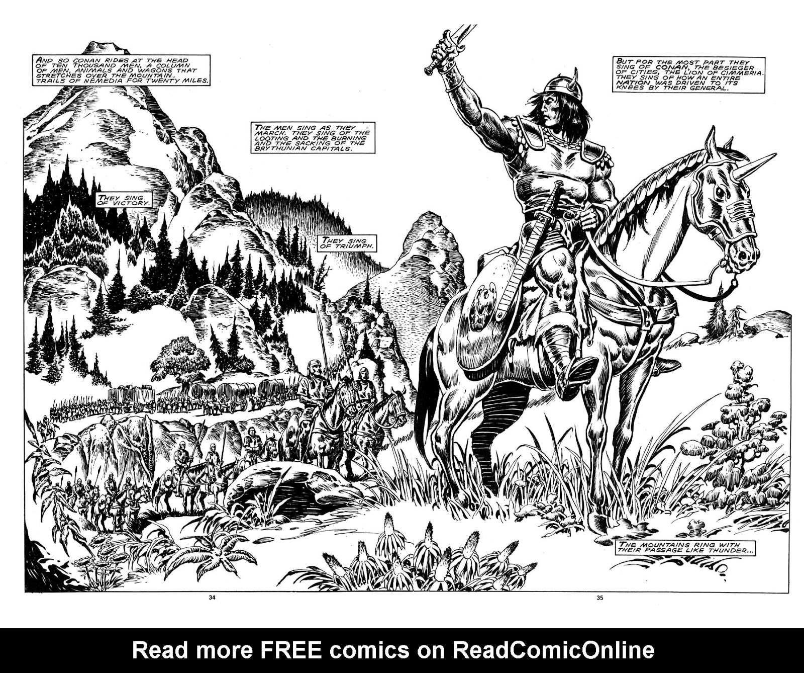 The Savage Sword Of Conan Issue #148 #149 - English 33