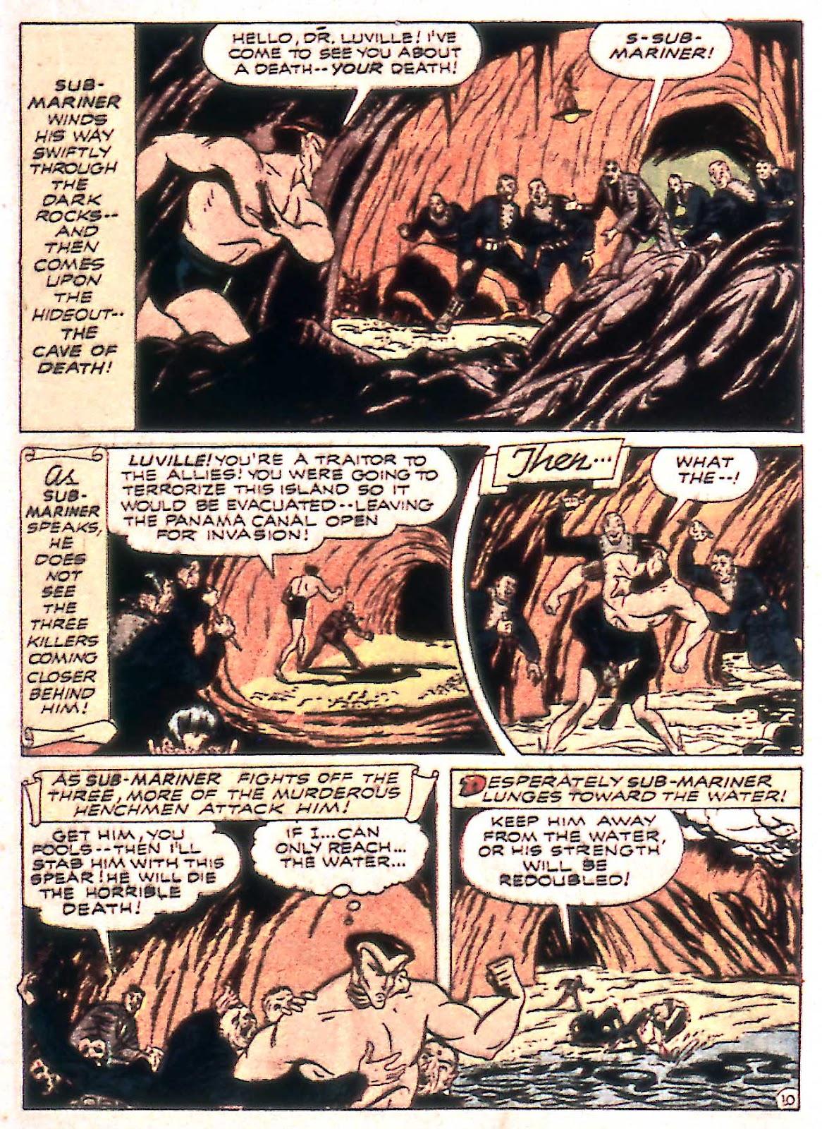 Sub-Mariner Comics Issue #14 #14 - English 25