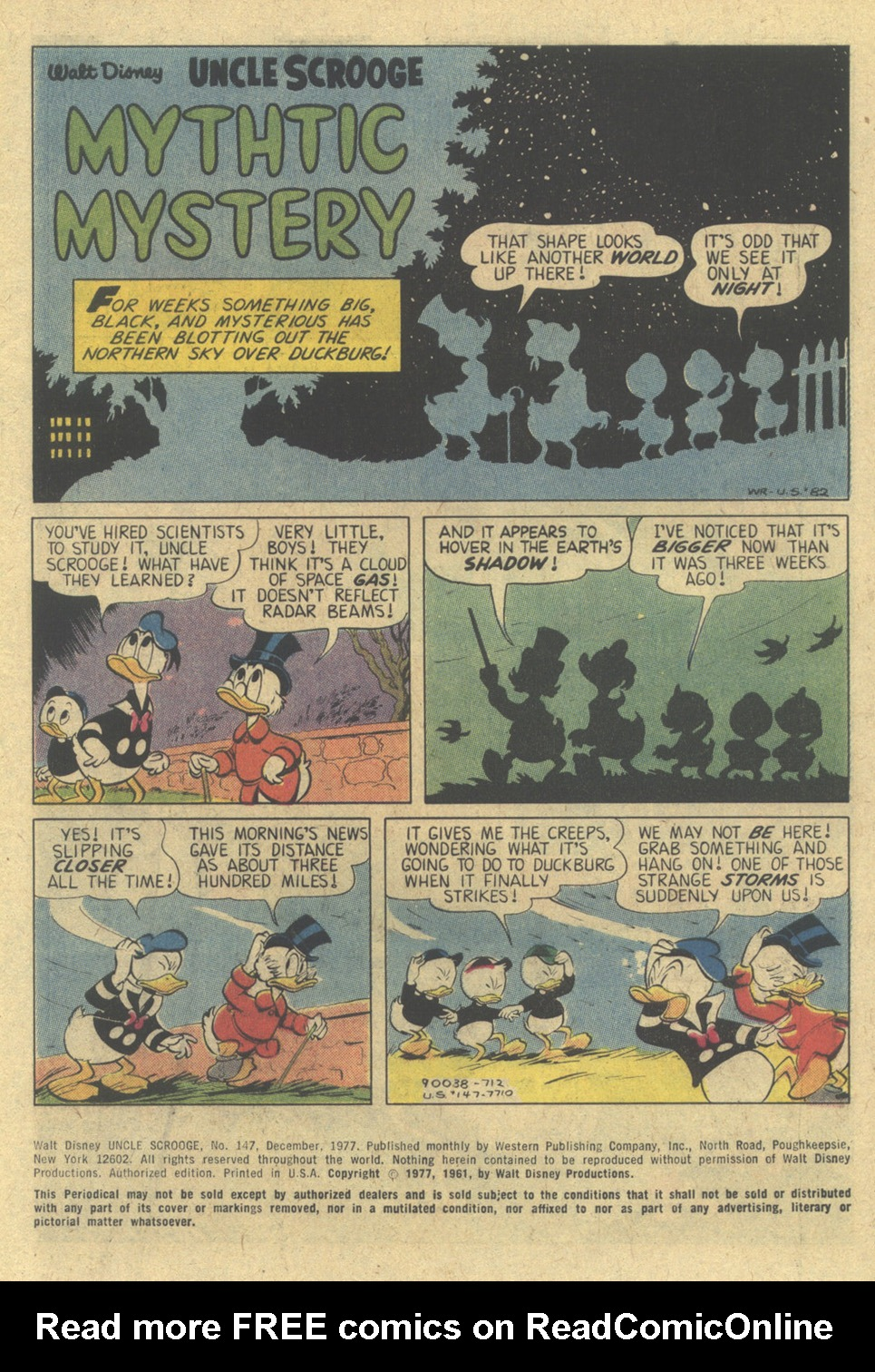 Uncle Scrooge (1953) Issue #147 #147 - English 3