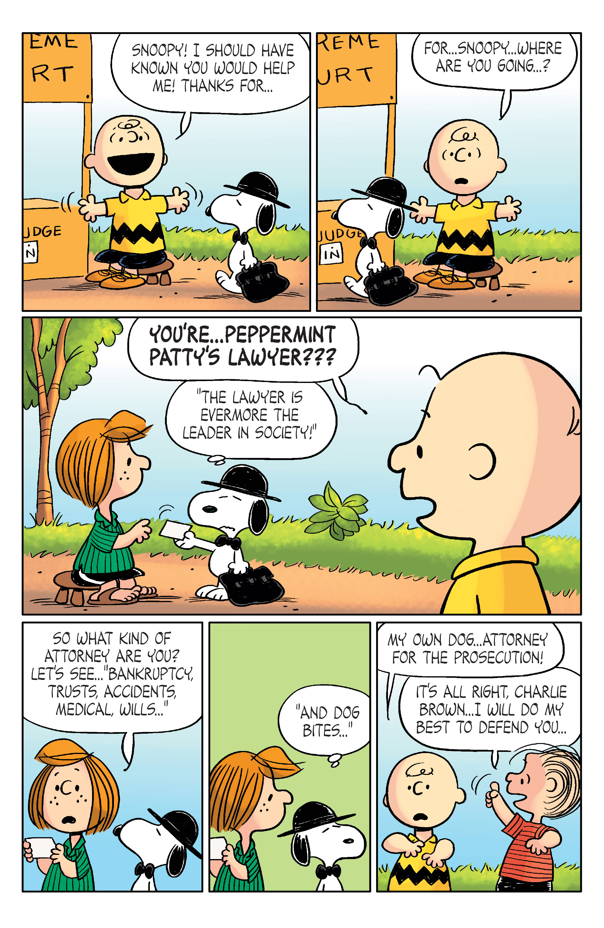 Read online Peanuts (2012) comic -  Issue #20 - 20