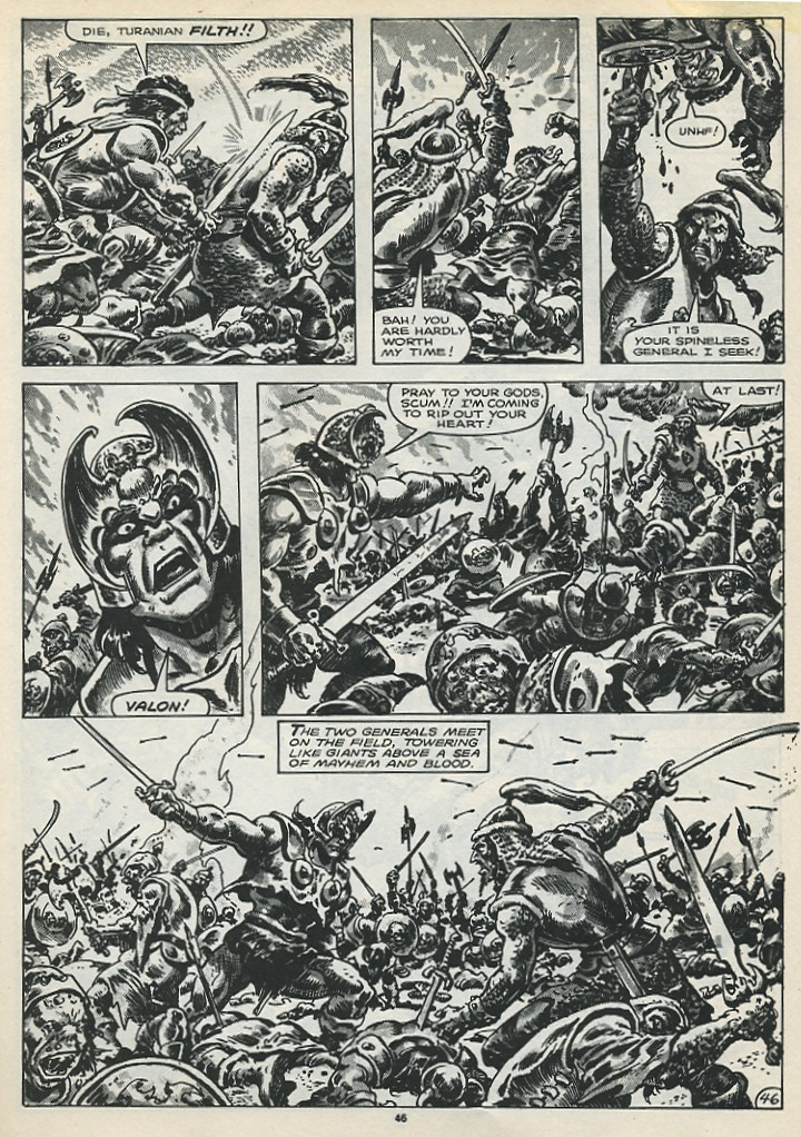 The Savage Sword Of Conan Issue #173 #174 - English 48