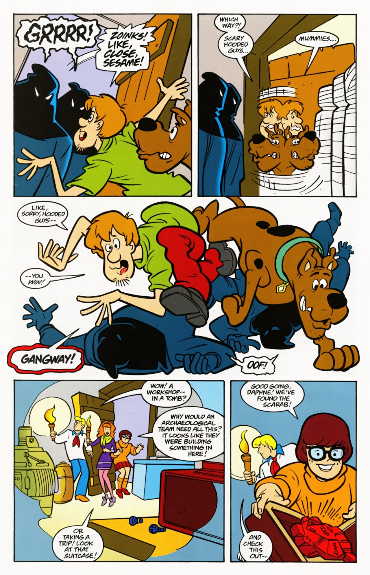 Read online Scooby-Doo: Where Are You? comic -  Issue #7 - 28