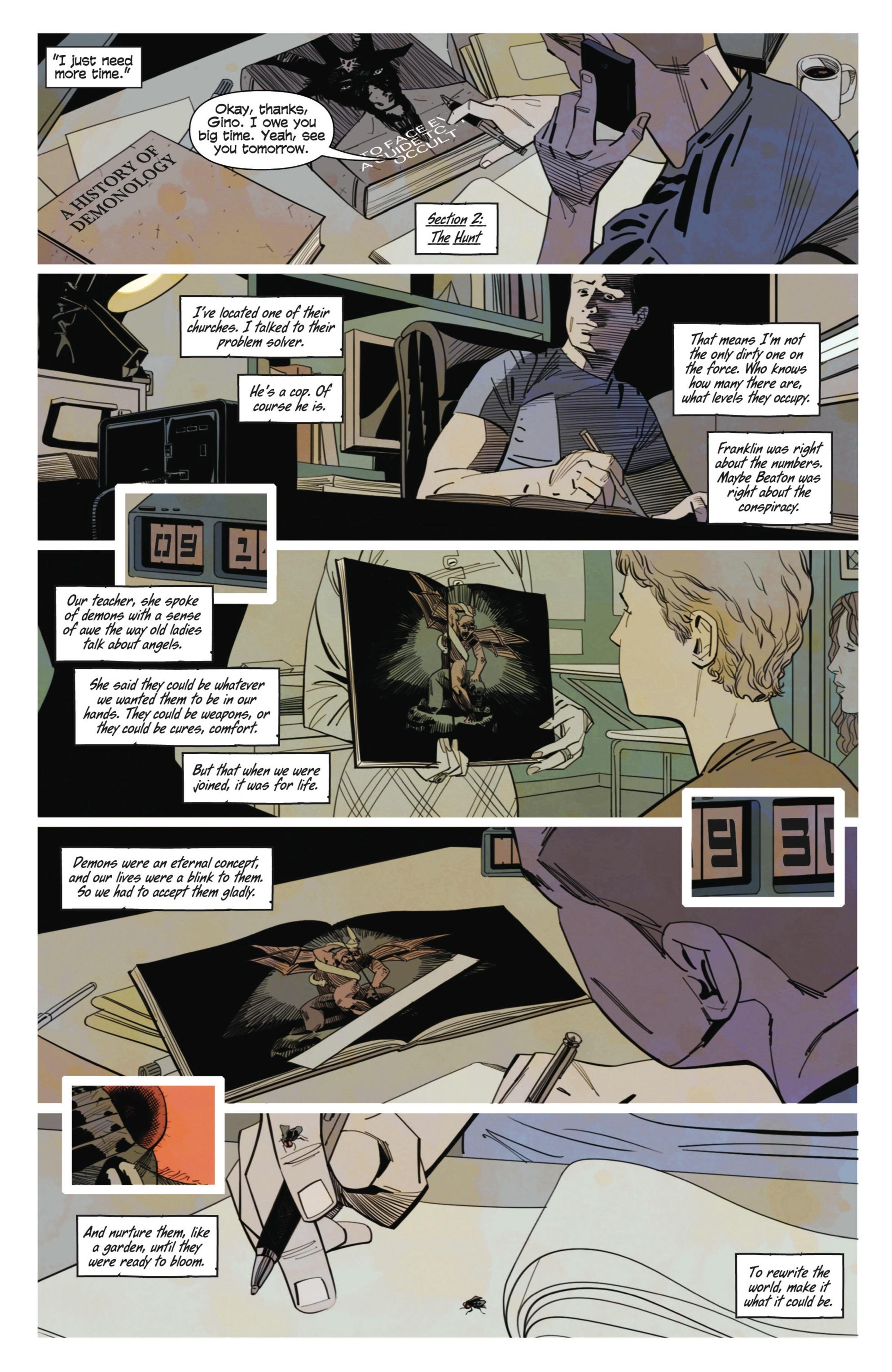Read online Demonic comic -  Issue #3 - 16