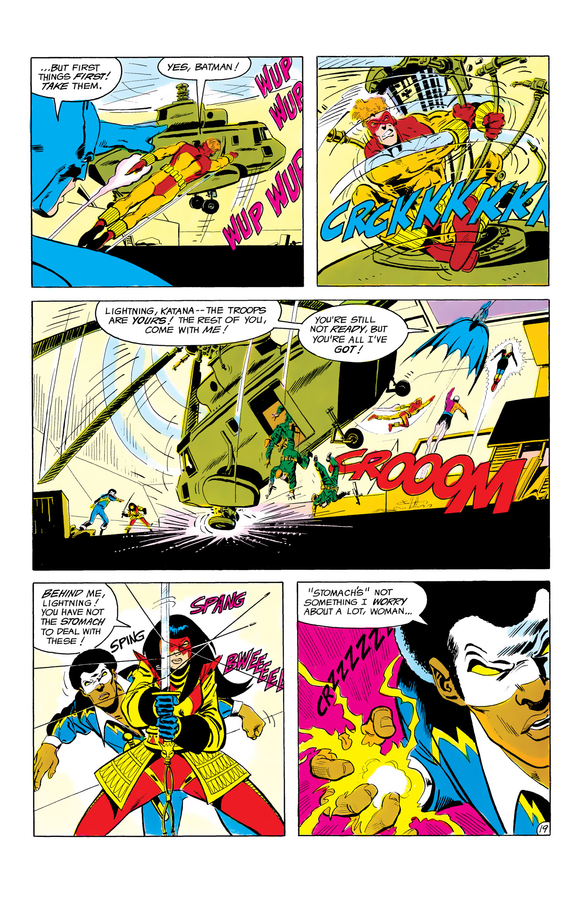 Batman and the Outsiders (1983) 3 Page 19