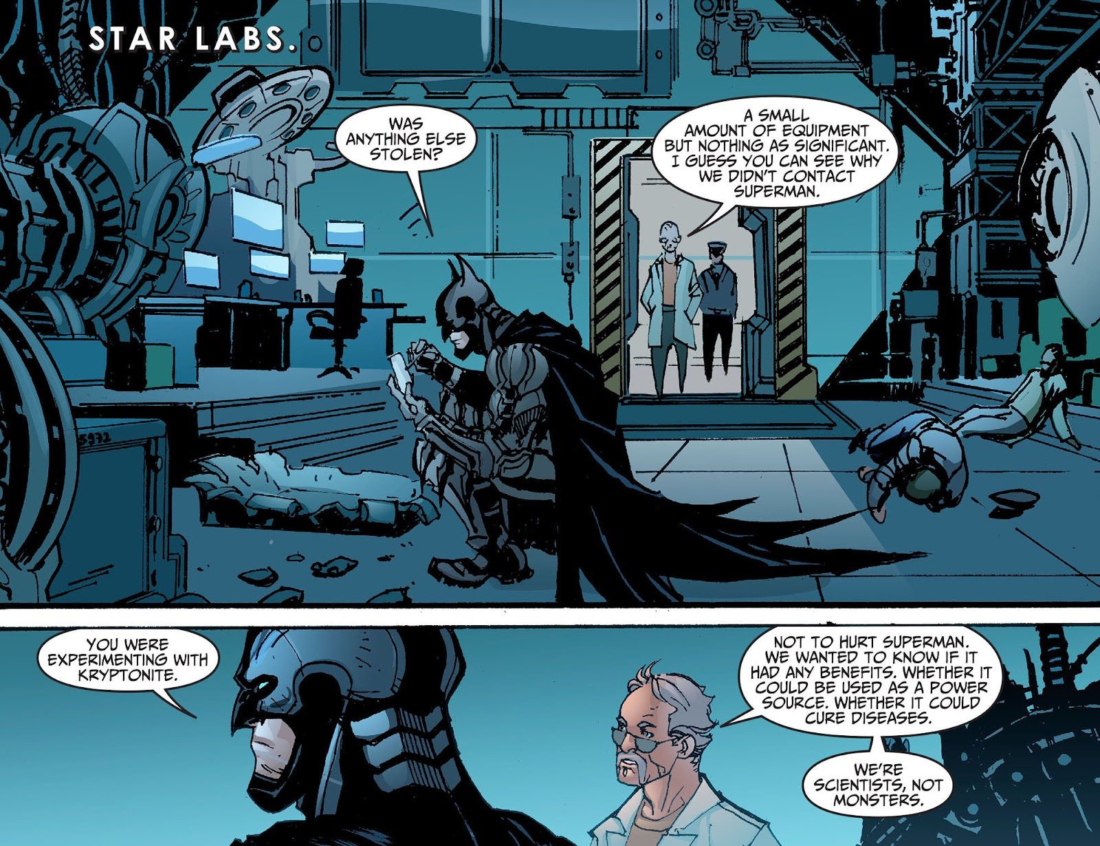 Injustice: Gods Among Us [I] Issue #2 #3 - English 5