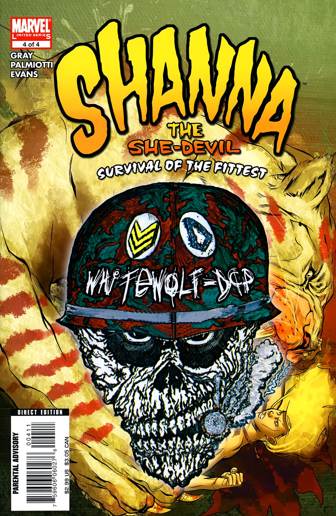 Read online Shanna the She-Devil: Survival of the Fittest comic -  Issue #4 - 23