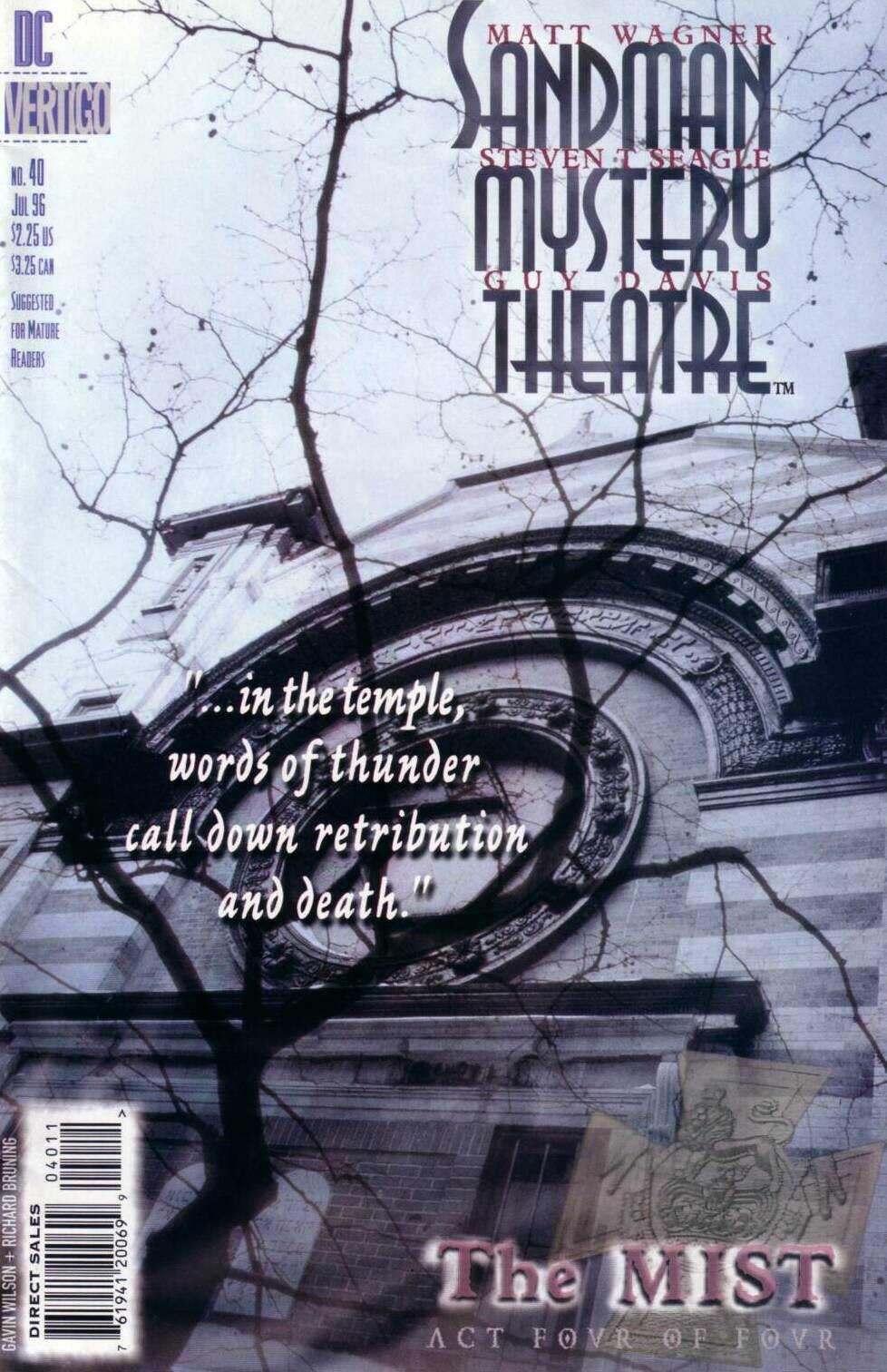 Sandman Mystery Theatre 40 Page 1