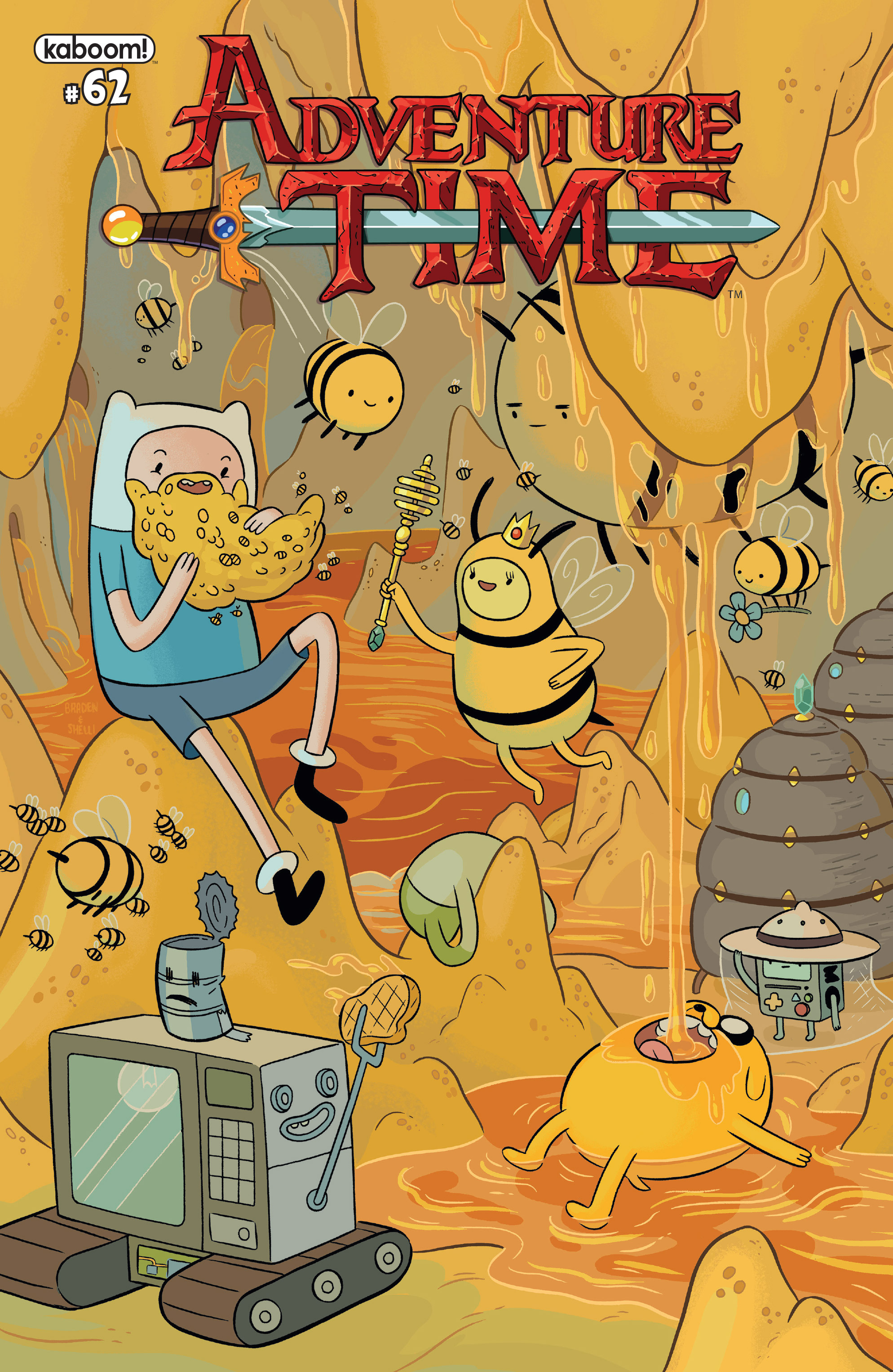 Adventure Time 62 Page 1
