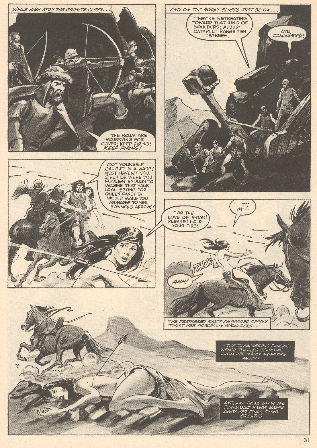 The Savage Sword Of Conan Issue #76 #77 - English 31