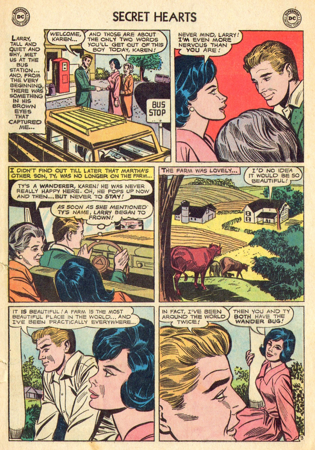 Read online Secret Hearts comic -  Issue #101 - 5