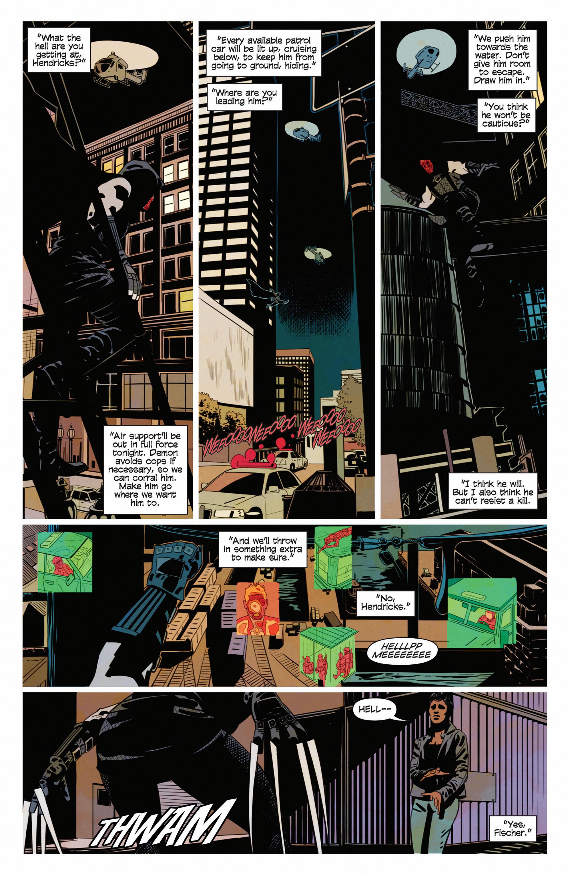 Read online Demonic comic -  Issue #5 - 14