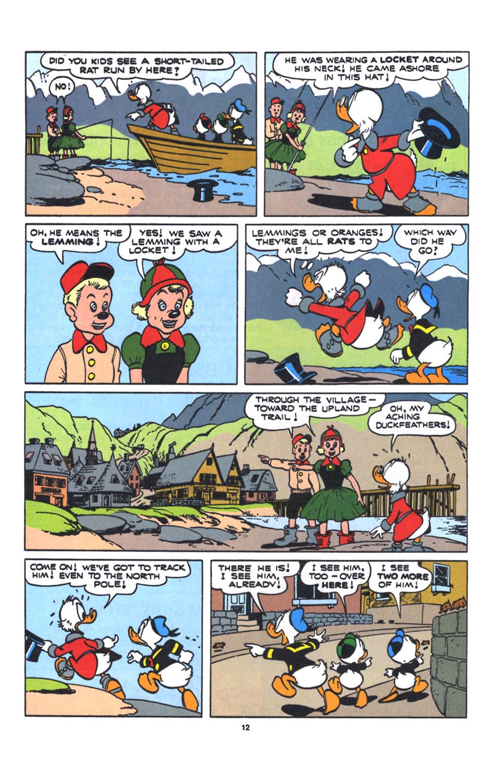 Uncle Scrooge (1953) Issue #250 #250 - English 14