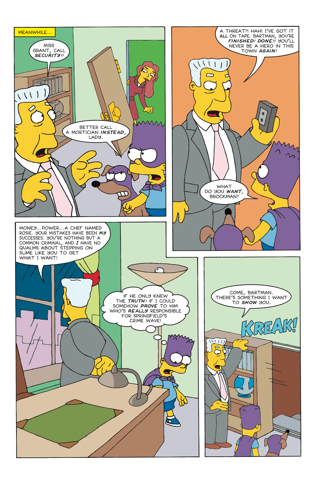 Read online Bartman comic -  Issue #6 - 15