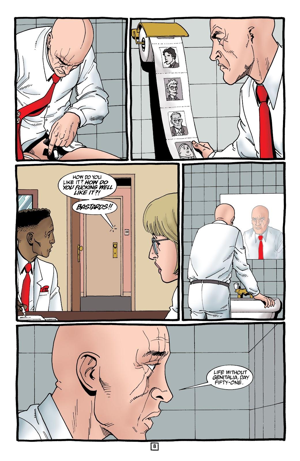 Preacher Issue #59 #68 - English 9