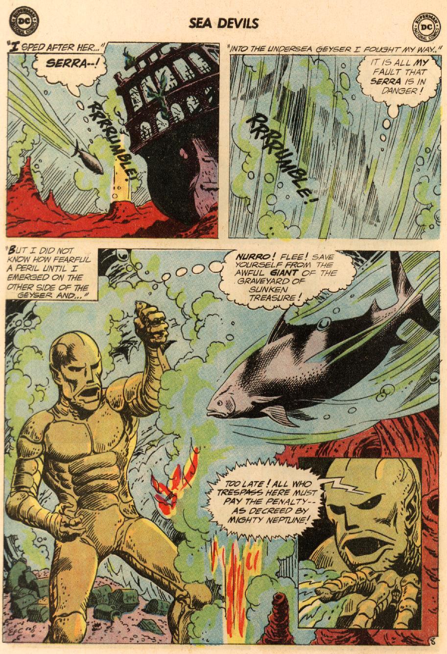 Read online Sea Devils comic -  Issue #8 - 13