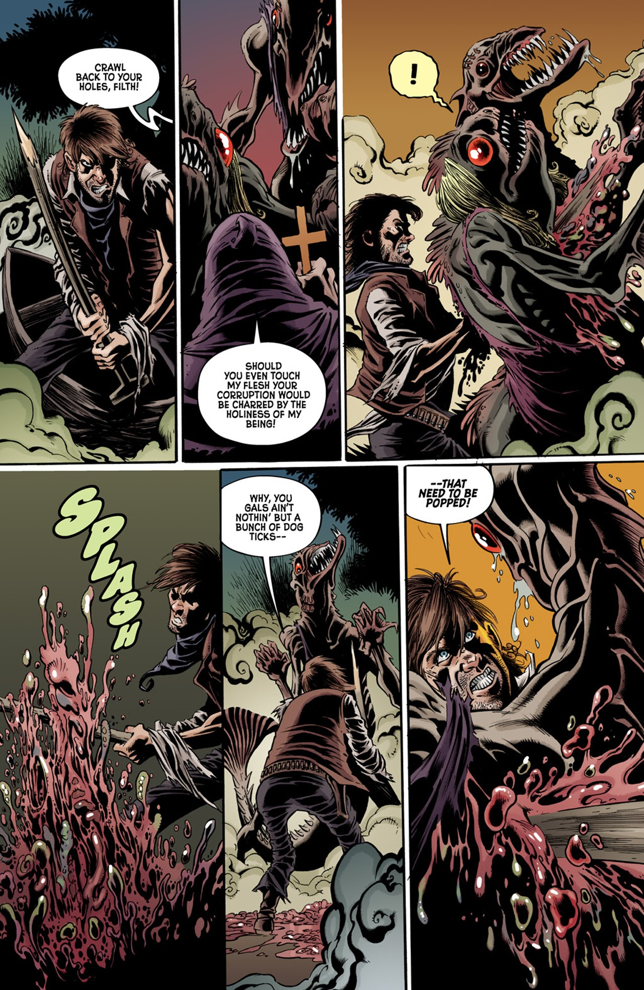 Read online Billy the Kid's Old Timey Oddities and the Orm of Loch Ness comic -  Issue #3 - 19