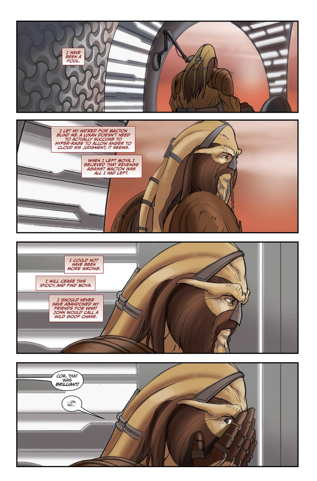 Read online Farscape: D'Argo's Quest comic -  Issue #4 - 24
