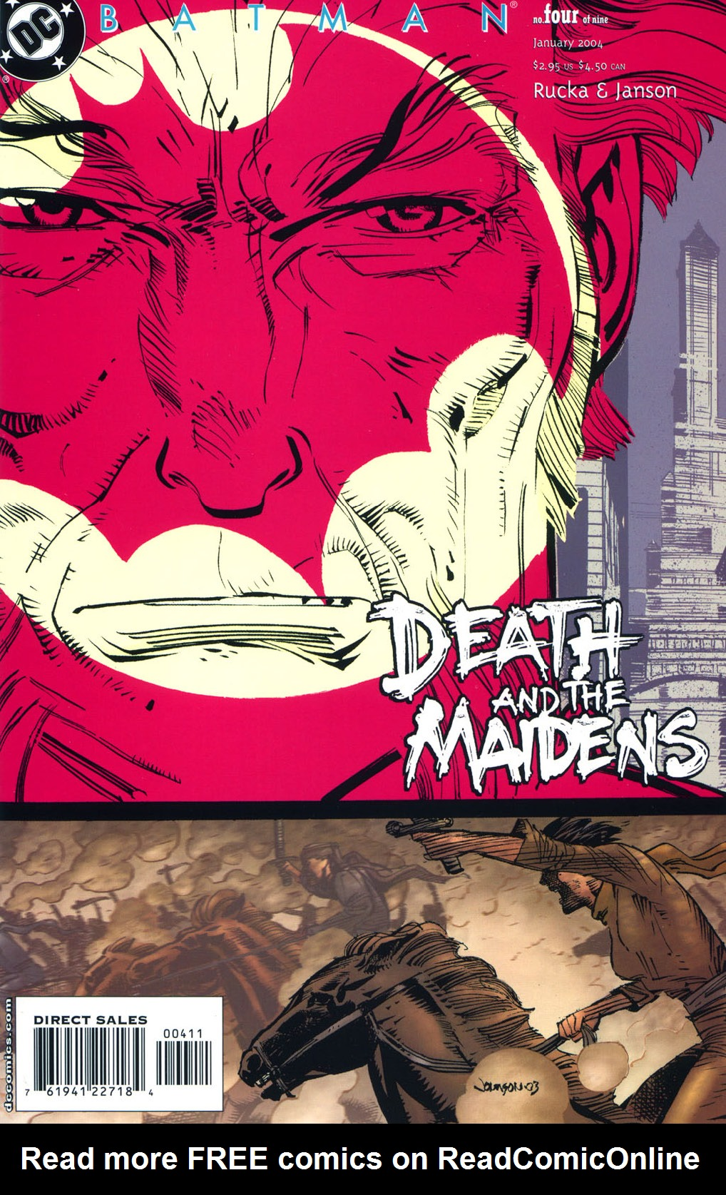 Batman: Death and the Maidens 4 Page 1
