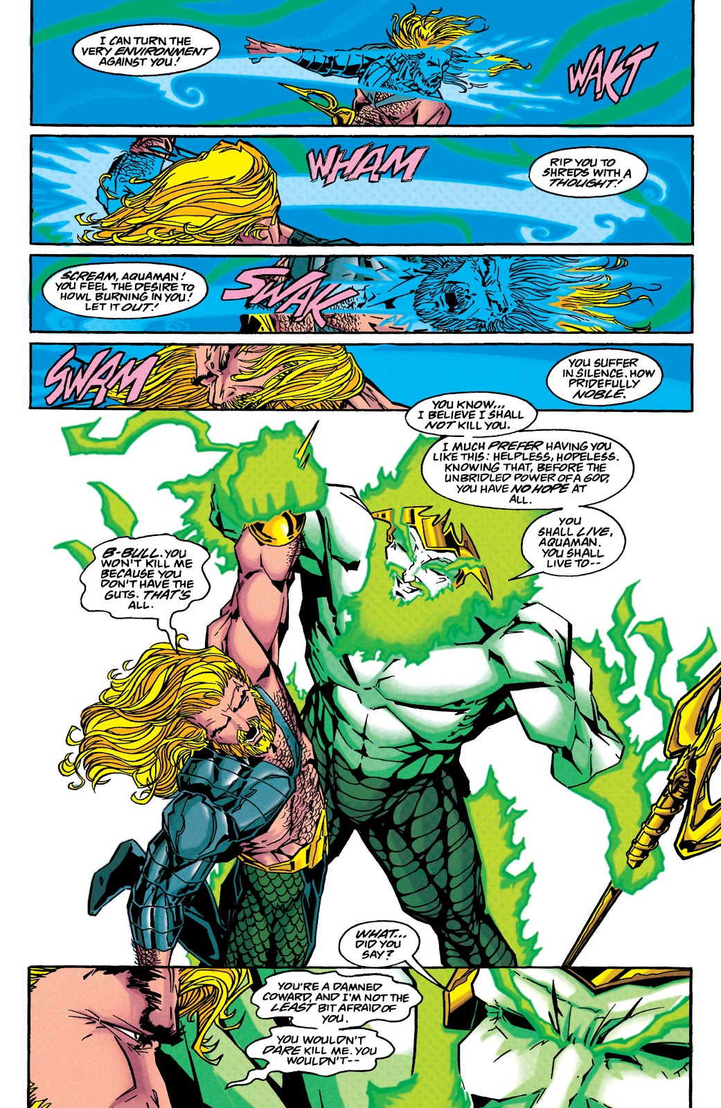 Aquaman (1994) Issue #45 #51 - English 21