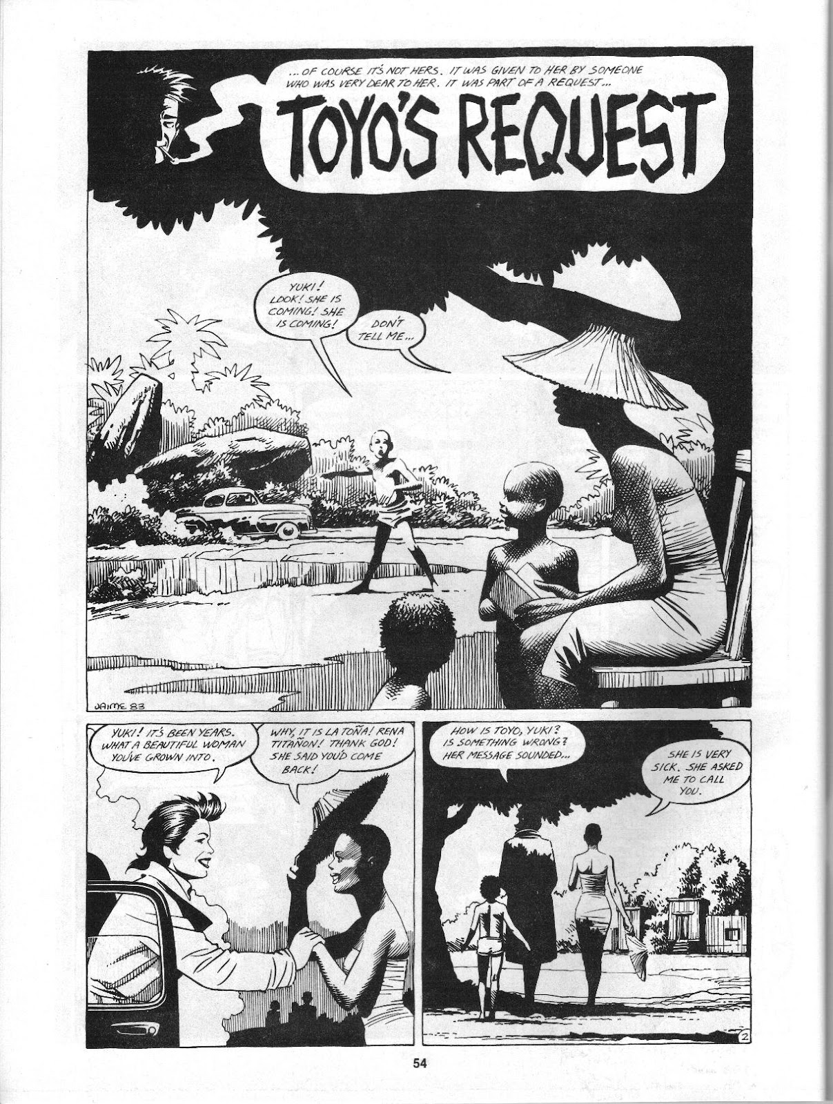 Love and Rockets (1982) Issue #3 #2 - English 56