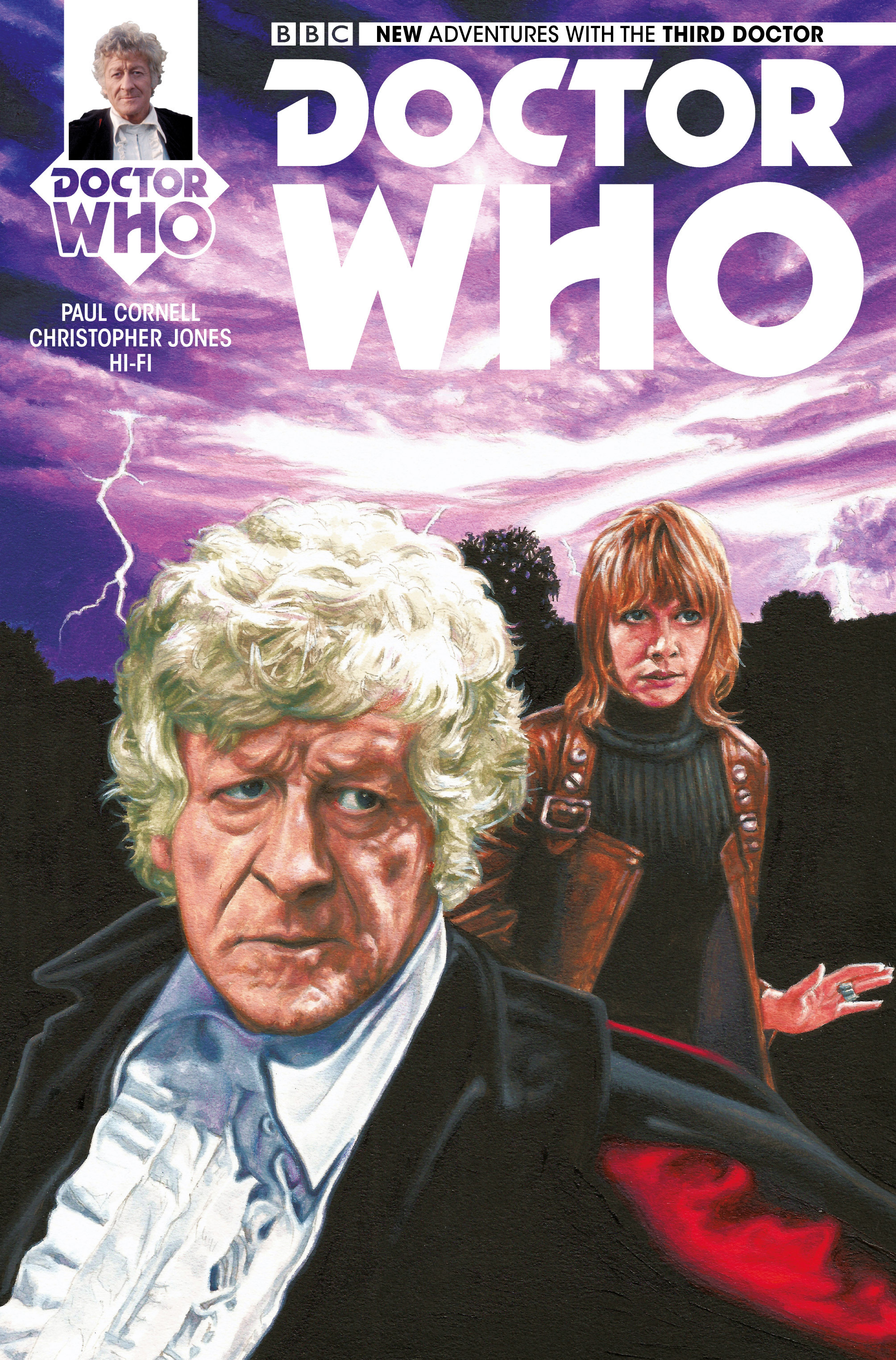Doctor Who: The Third Doctor 4 Page 1