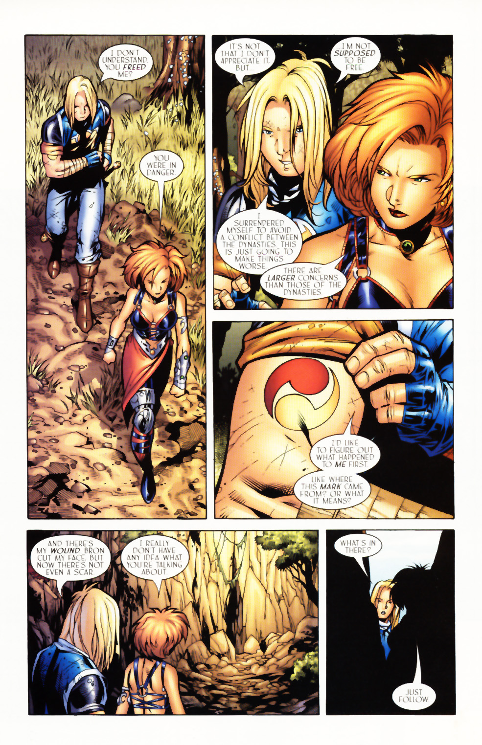 Read online Scion comic -  Issue #3 - 10