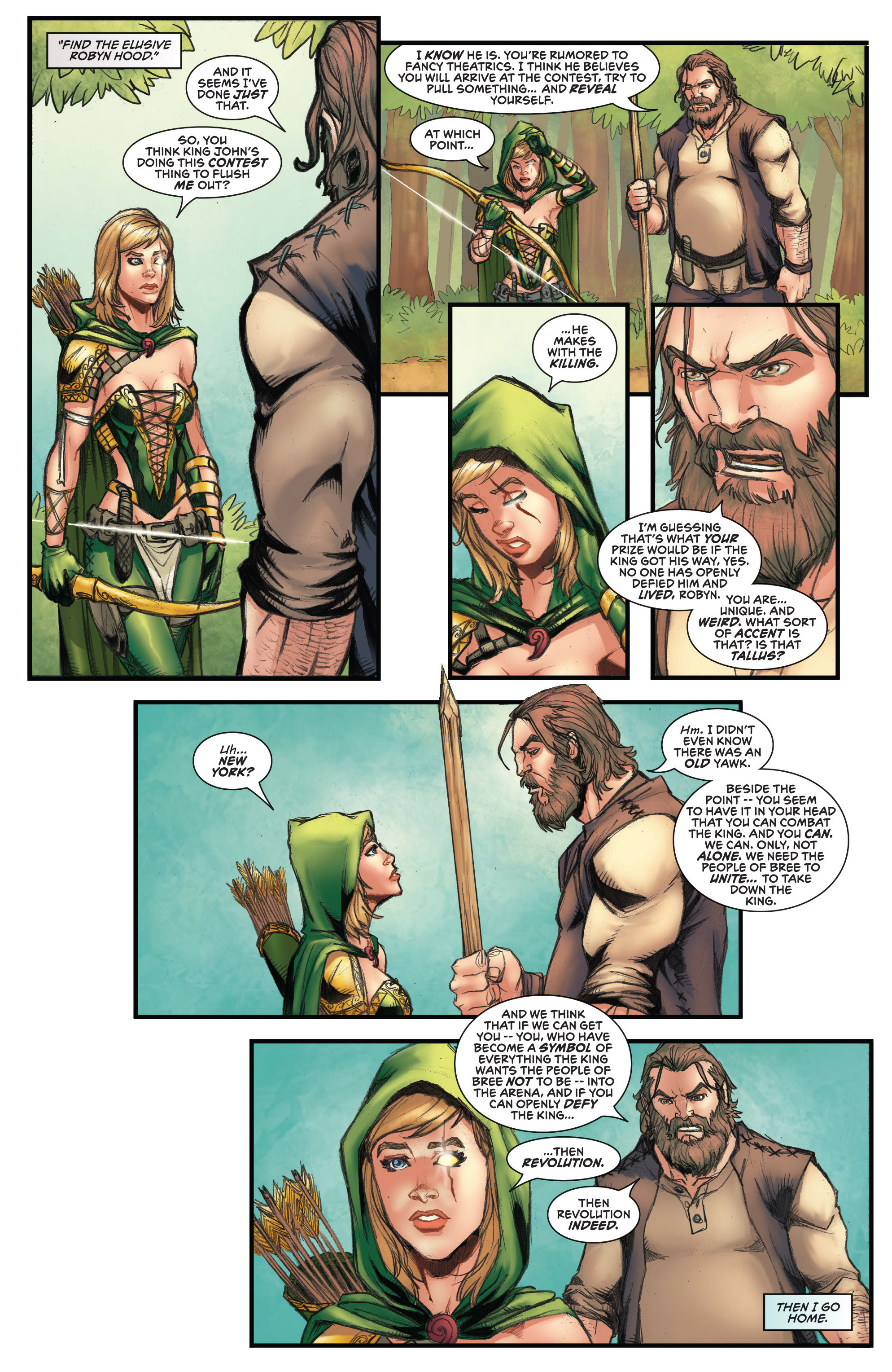 Read online Grimm Fairy Tales presents Robyn Hood (2012) comic -  Issue #3 - 10