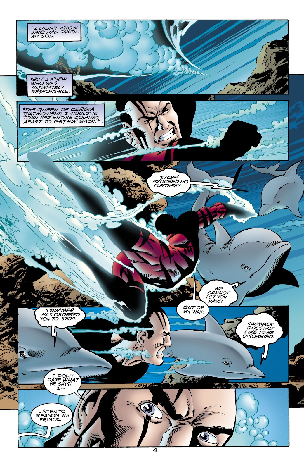 Aquaman (1994) Issue #65 #71 - English 5