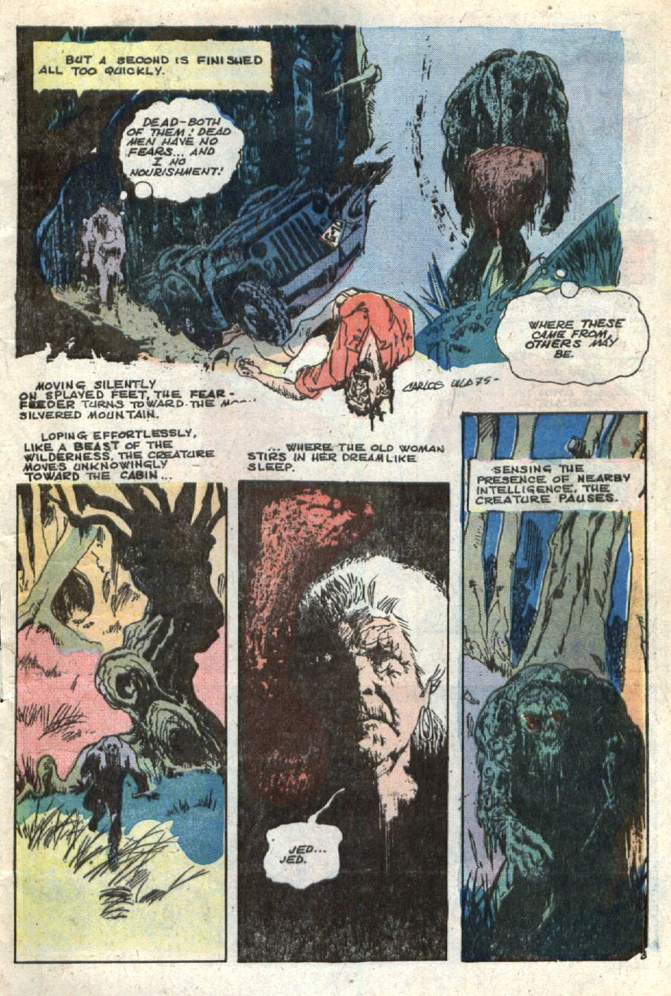 Read online Scary Tales comic -  Issue #4 - 5
