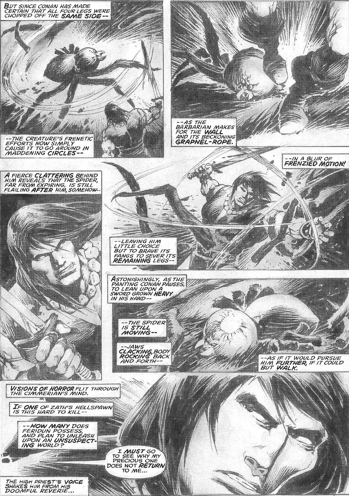 The Savage Sword Of Conan Issue #209 #210 - English 41