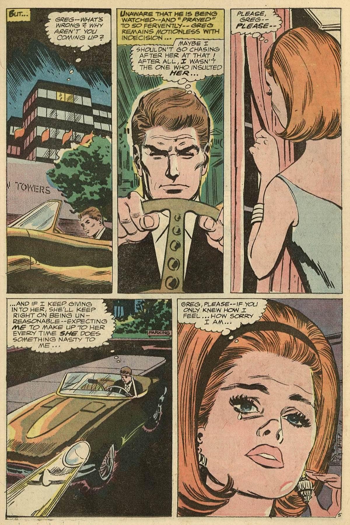 Read online Secret Hearts comic -  Issue #125 - 23