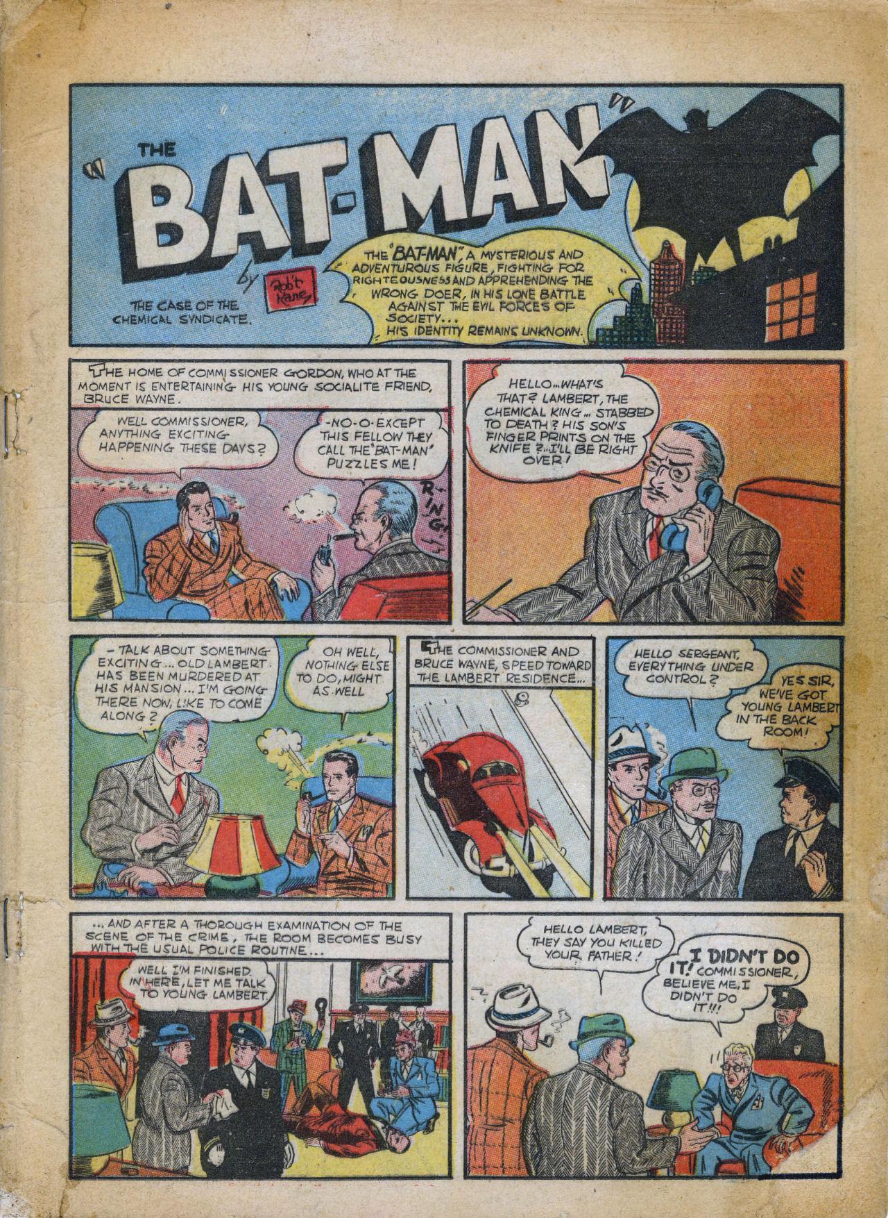 Detective Comics (1937) 27 Page 2