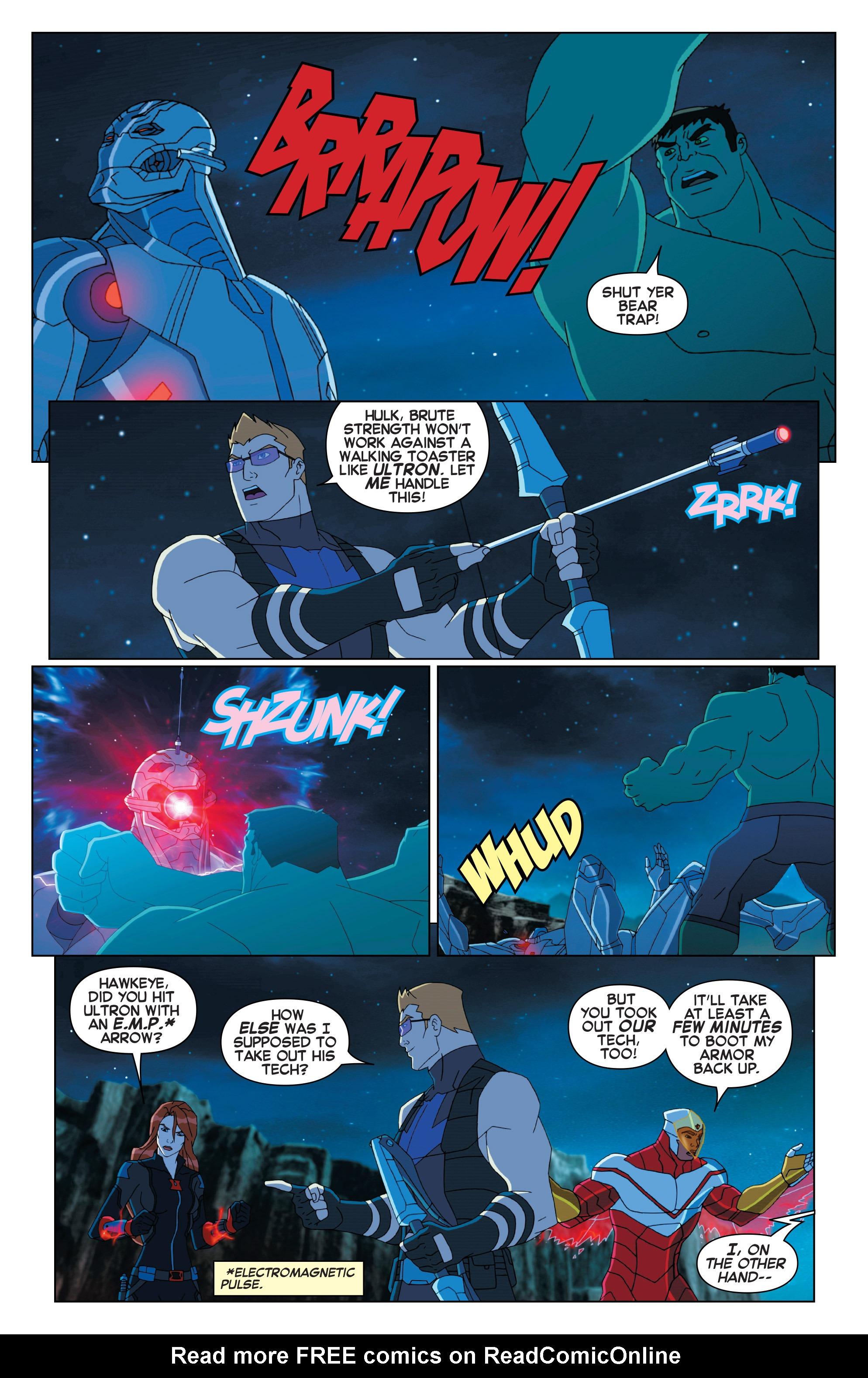 Read online Marvel Universe Avengers: Ultron Revolution comic -  Issue #2 - 4
