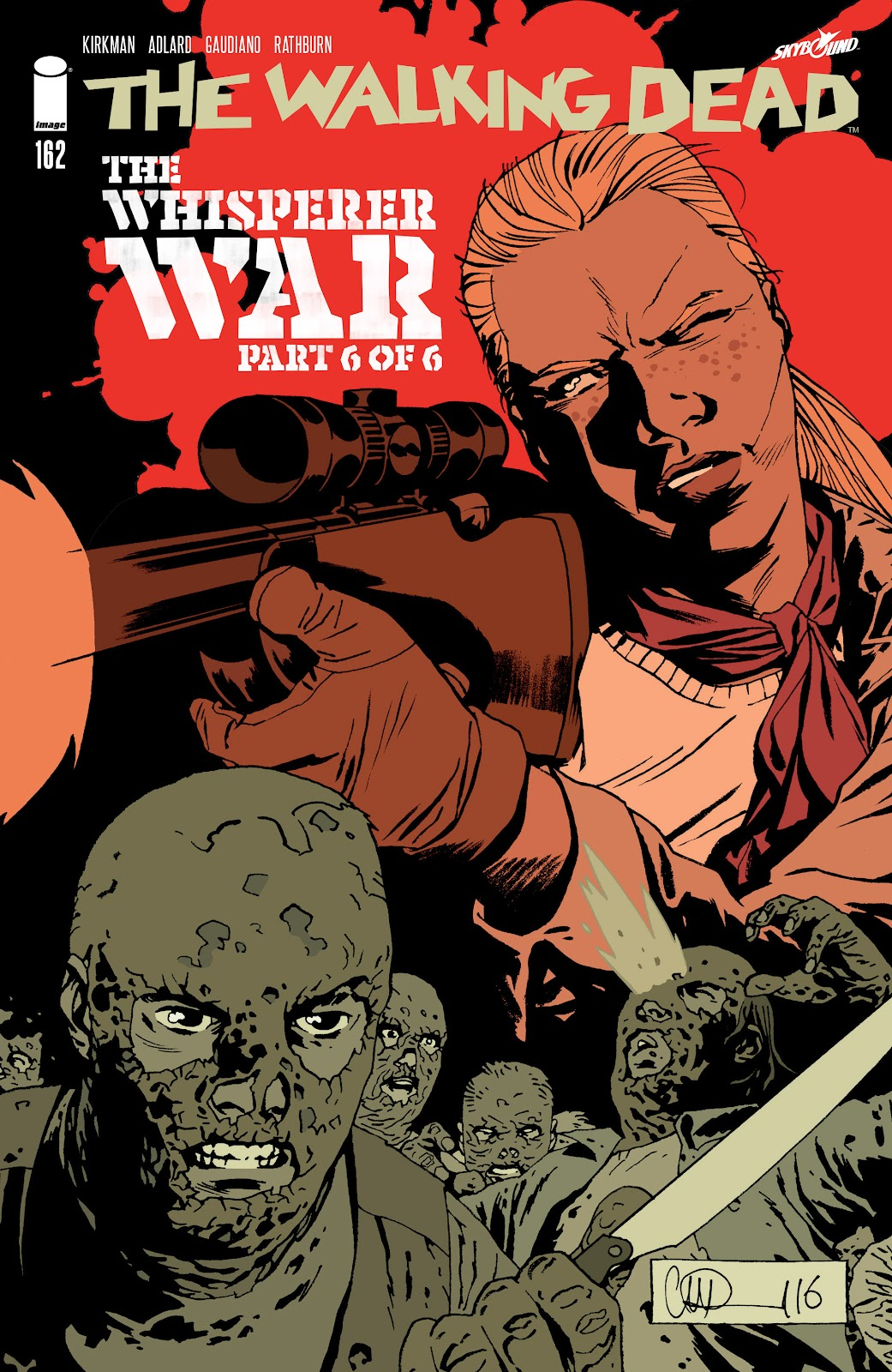 The Walking Dead Issue #162 Page 1