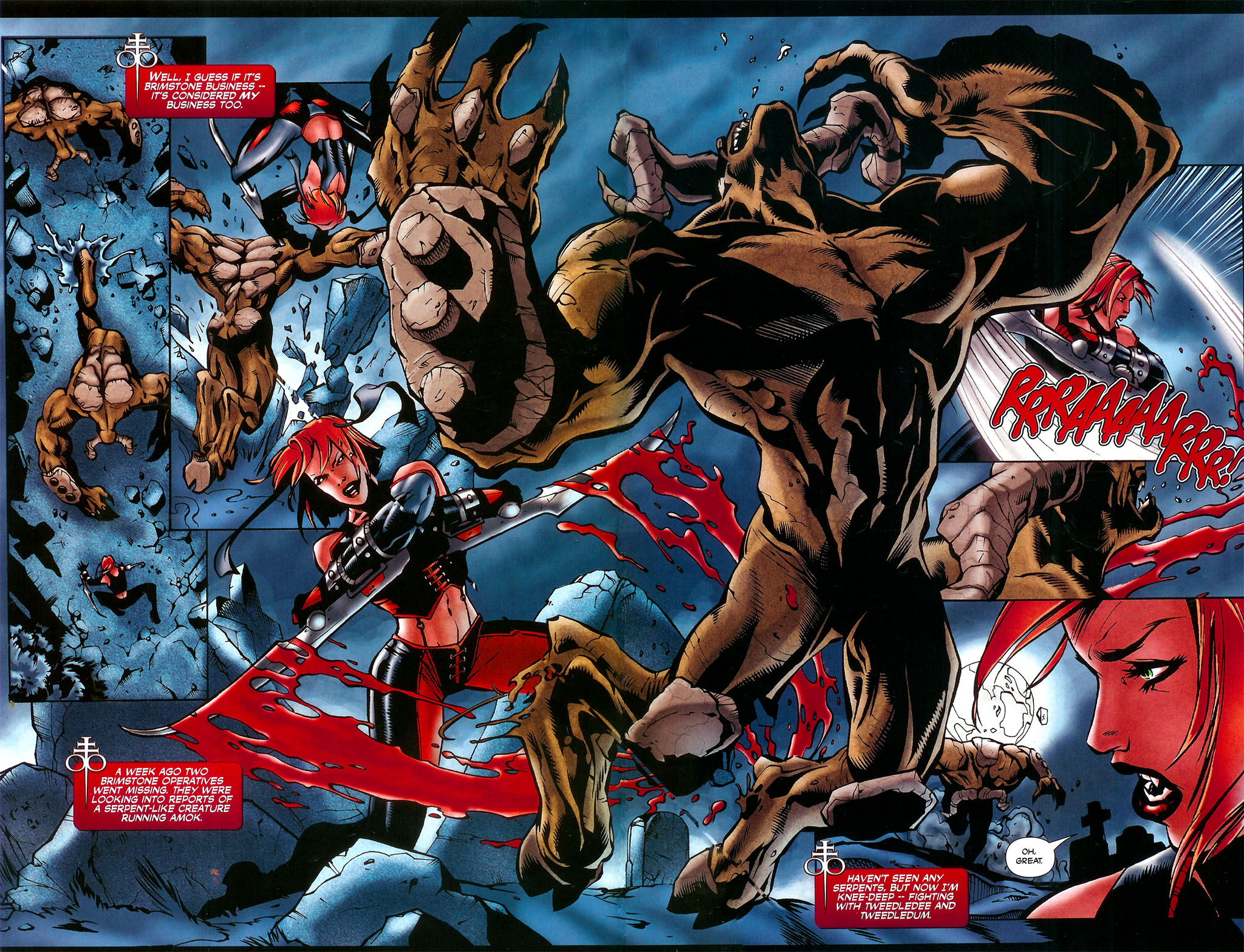 Read online BloodRayne: Dark Soul comic -  Issue # Full - 4