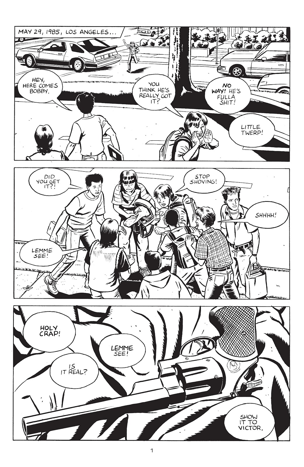 Stray Bullets Issue #30 #30 - English 3