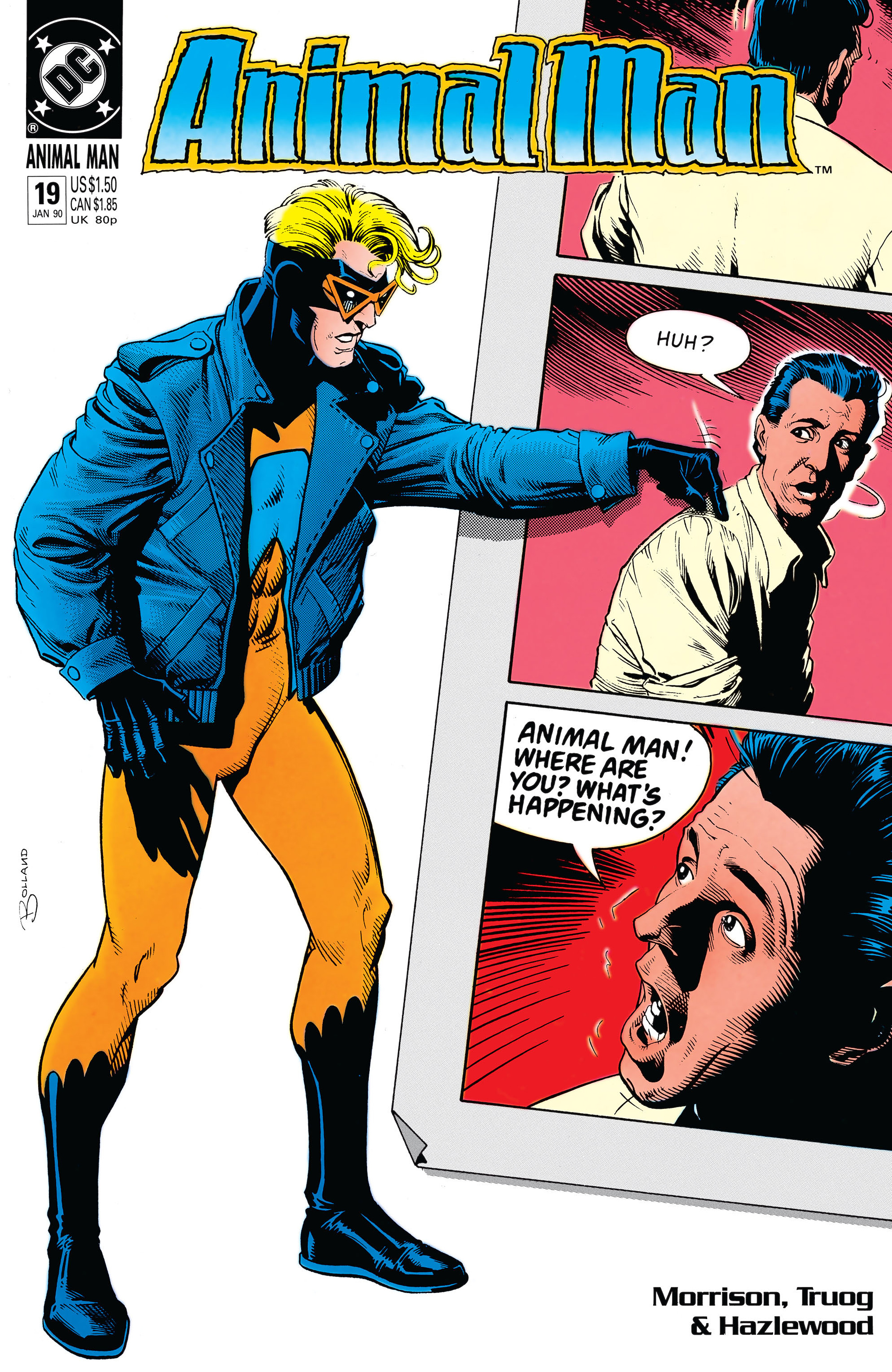 Animal Man issue 19 - Page 1