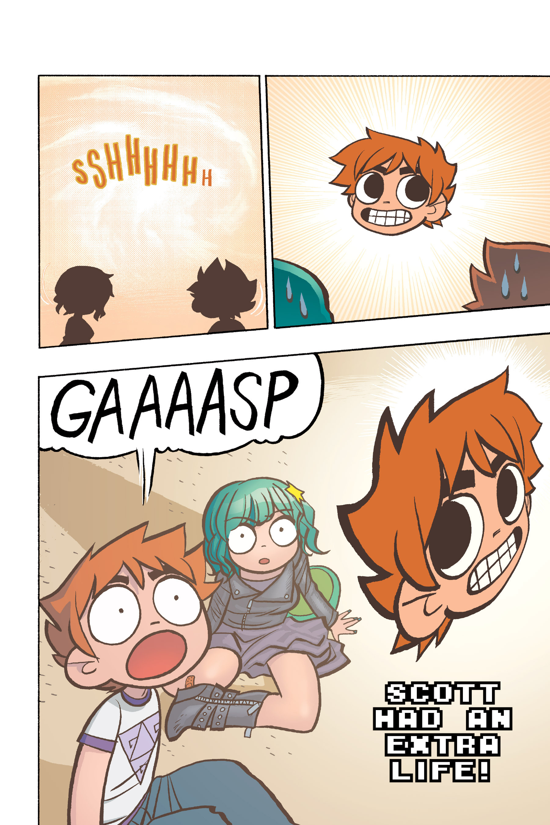 Read online Scott Pilgrim comic -  Issue #6 - 141