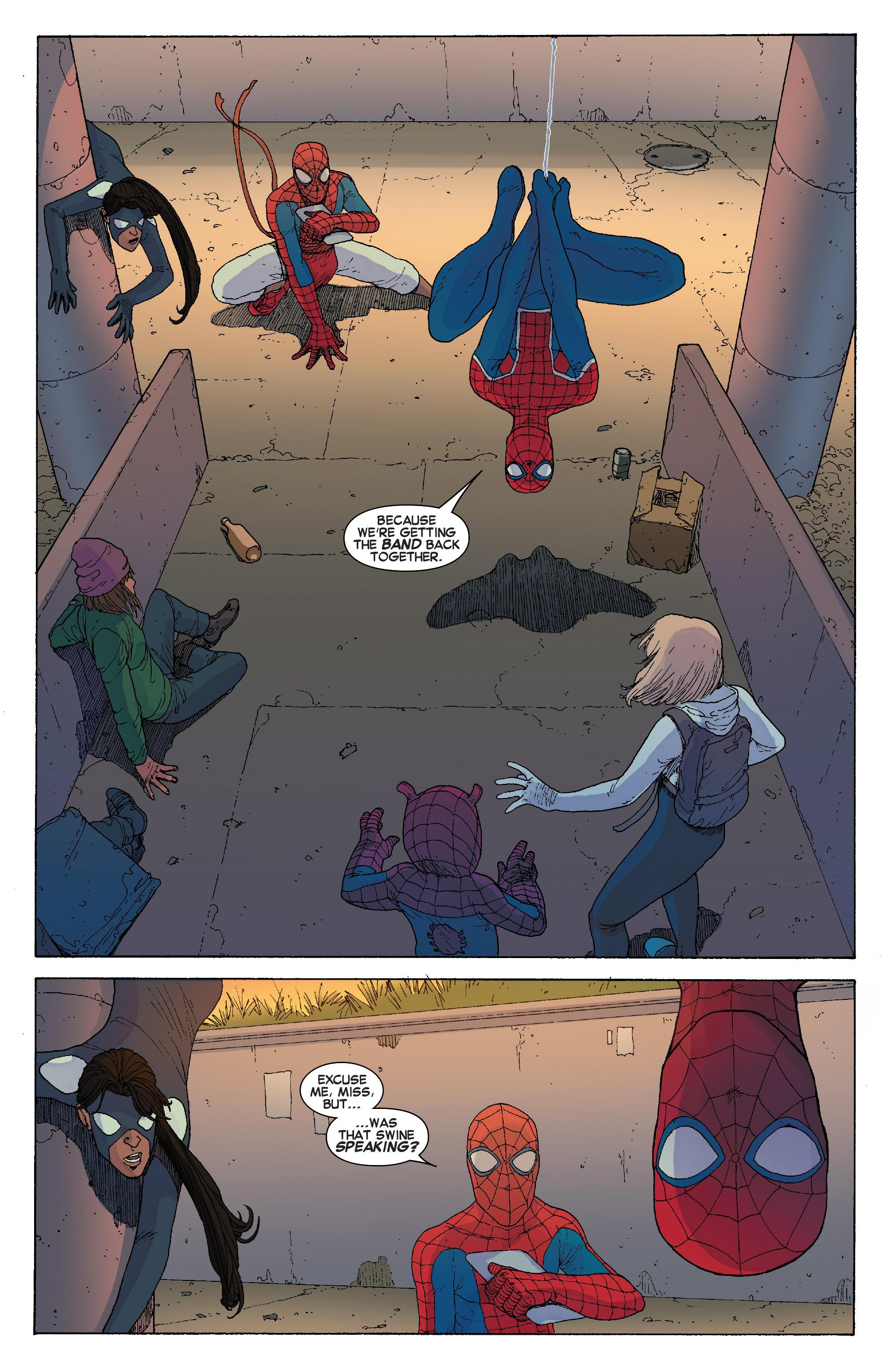 Read online Spider-Verse [II] comic -  Issue #2 - 9