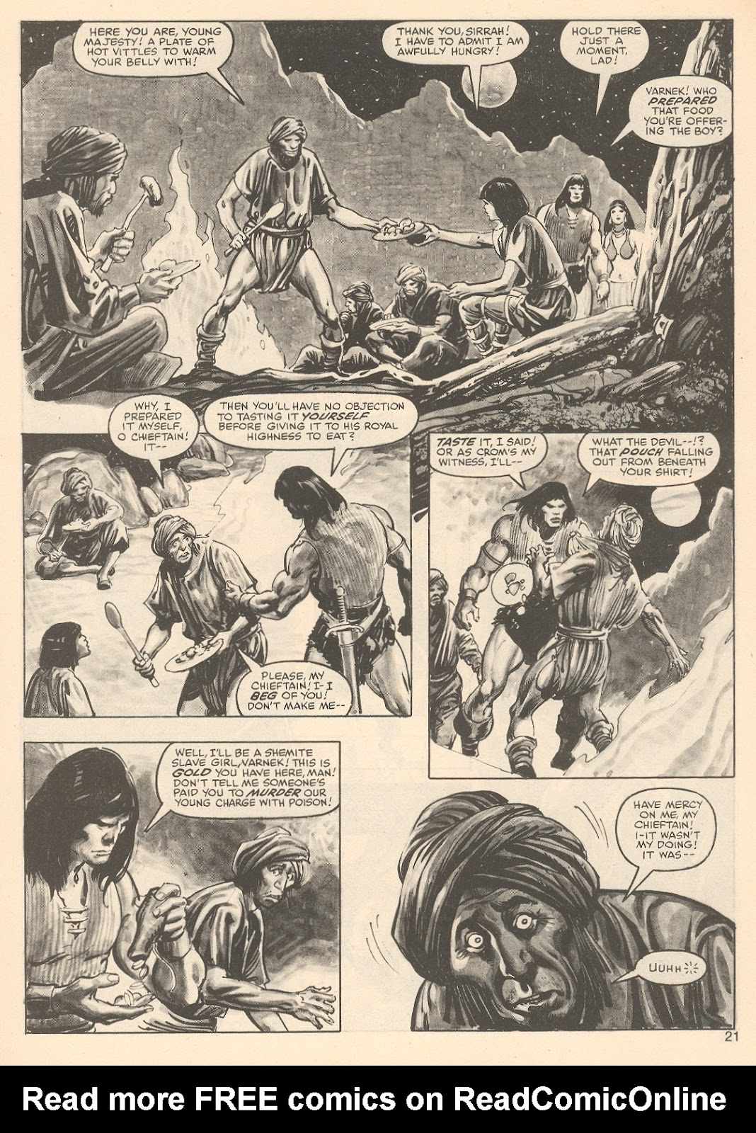 The Savage Sword Of Conan Issue #76 #77 - English 21