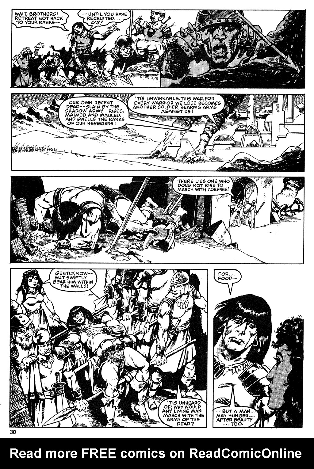 The Savage Sword Of Conan Issue #110 #111 - English 29