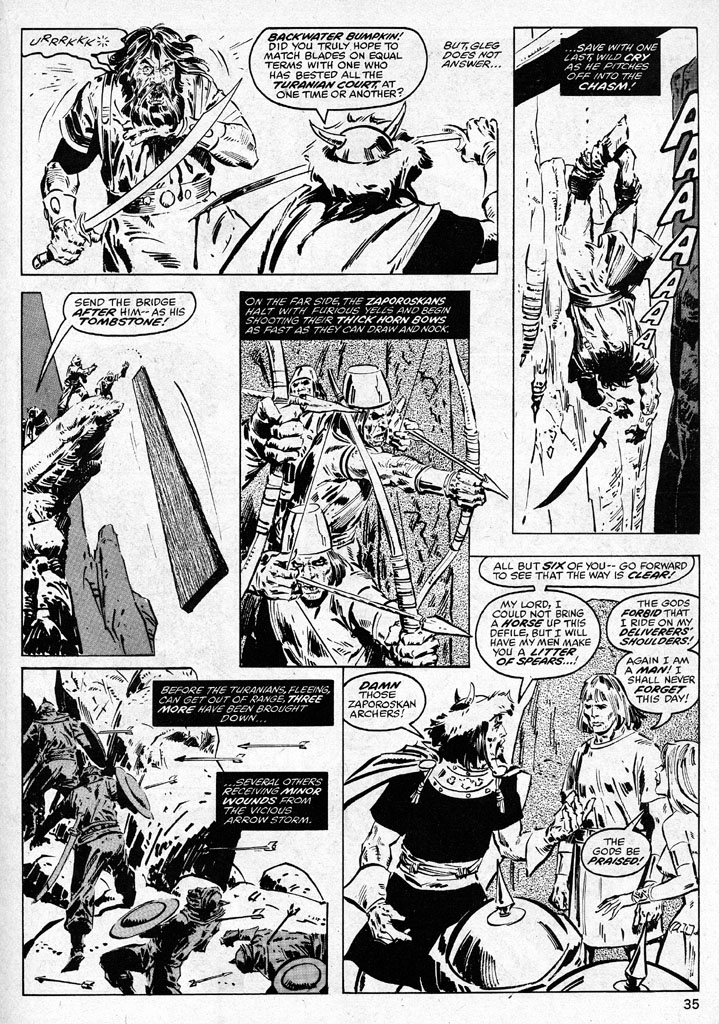 The Savage Sword Of Conan Issue #38 #39 - English 35
